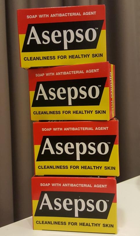 สบู่Asepso