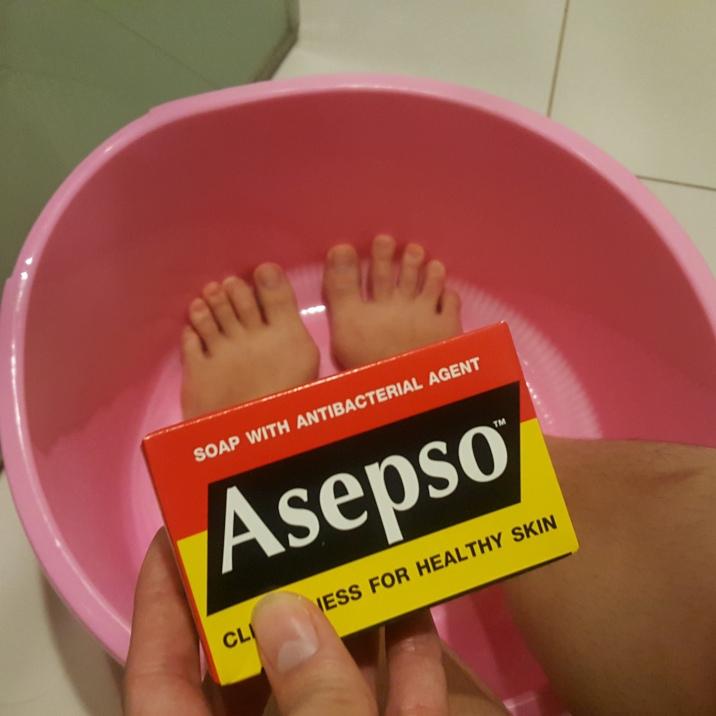 สบู่อาเซปโซลดกลิ่นเท้าได้